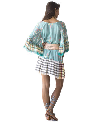 Margarita Short Ikat Dress
