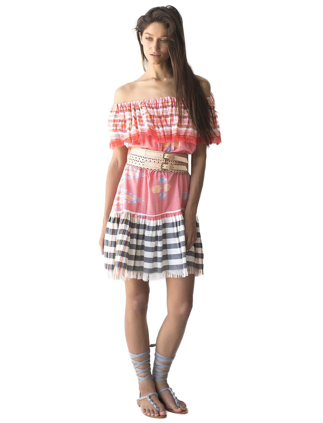 Rita Short Ikat Dress