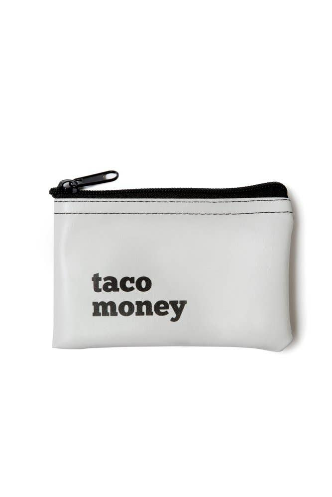 Taco Money Pouch