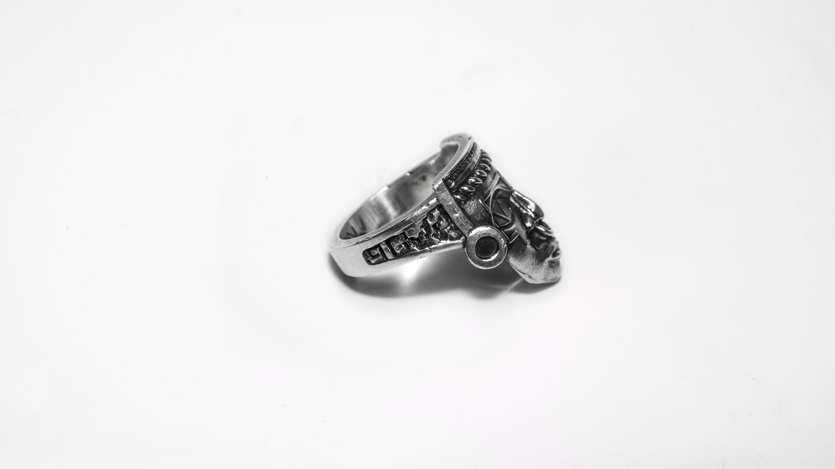 Toltec Silver Ring