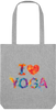 Sac BIO I Love Yoga en coton recyclé