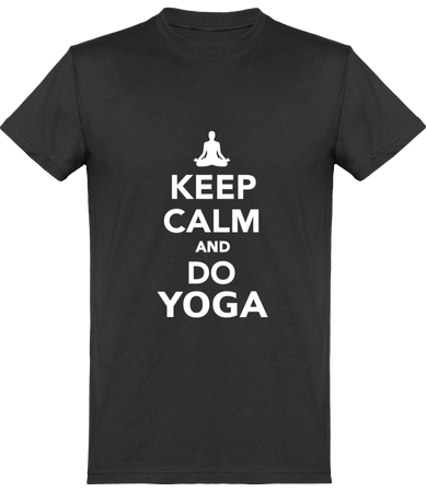 Tee-Shirt Homme KEEP CALM 100% coton Bio