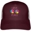 Casquette Trucker LOVE PEACE
