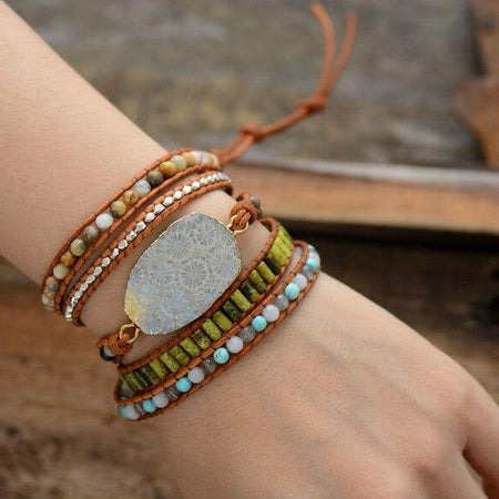 Bracelet Brillance en pierre naturelle