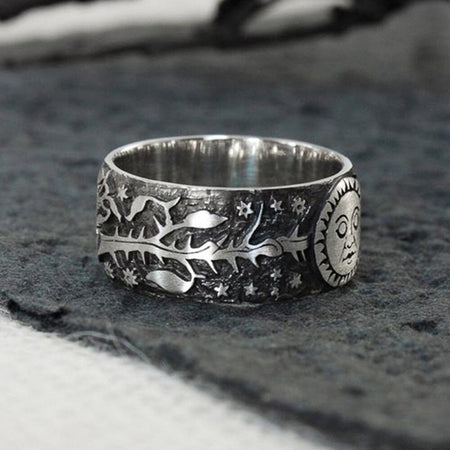 Bague Moon en alliage de Zinc