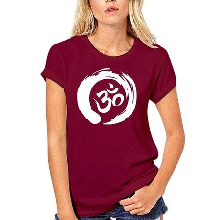 Tee-shirt 100% coton col rond - Femme