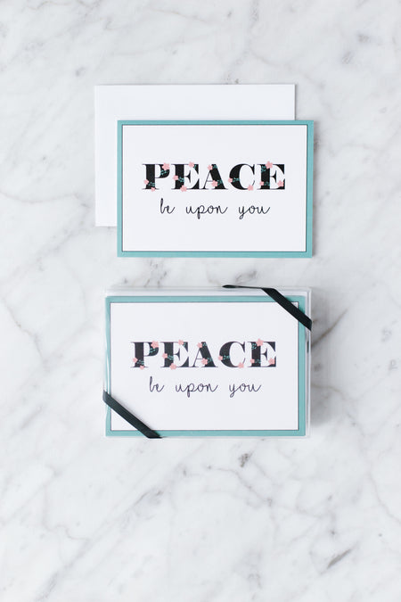 Peace Be Upon You Greeting Card Set