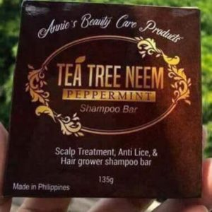 Tea Tree Anti-Lice And Hair Grower Shampoo Bar