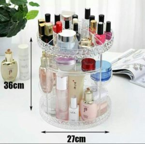 Large Rotating Cosmetic Organizer