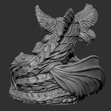 Load image into Gallery viewer, Bakunawa (STL file for 3dprinting)