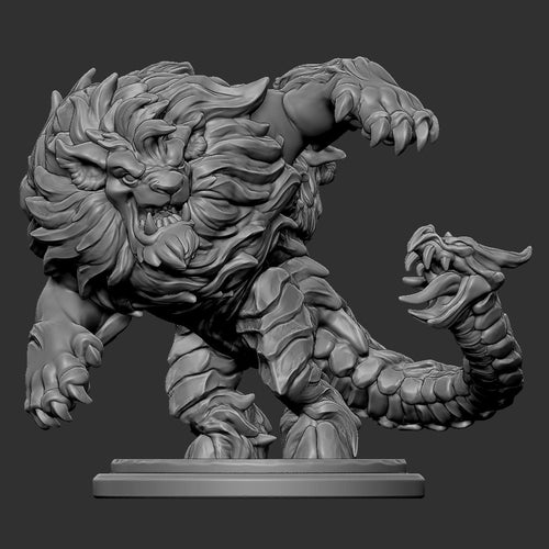 Chimera (STL file for 3dprinting)