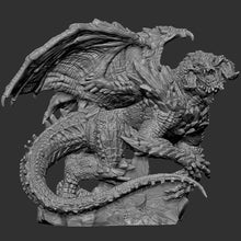 Load image into Gallery viewer, Dragon (STL file for 3dprinting)