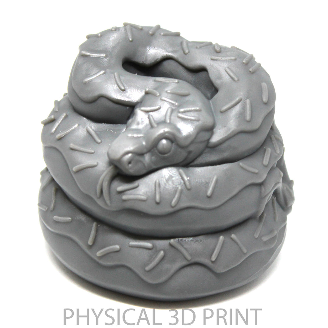 Doughaconstrictor- Collaboration with Bianca Roman-Stumpff (physical 3d print)
