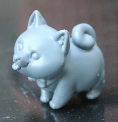Mr Shibe - Collaboration with Bianca Roman-Stumpff (STL file for 3dprinting)