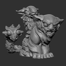 Load image into Gallery viewer, Mini Chimera (STL file for 3dprinting)