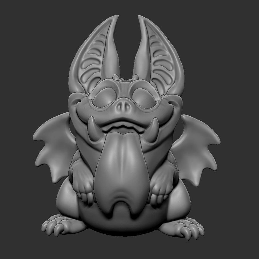 Mini Gargoyle (STL file for 3dprinting)