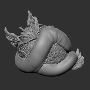 Mini Bakunawa (STL file for 3dprinting)
