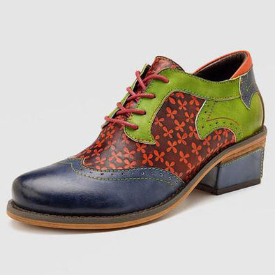 Casual Vintage Handmade Style Leather Fashion Shoes