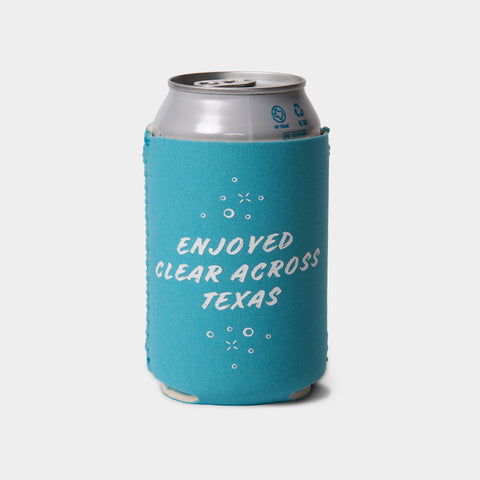 """Clear Across Texas"" Koozie"