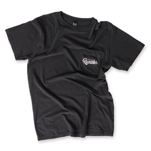 Unisex Pocket Logo Tee