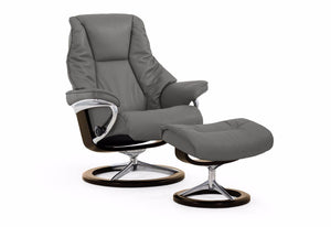 Live Large Signature Recliner & Ottoman (Stressless by Ekornes)