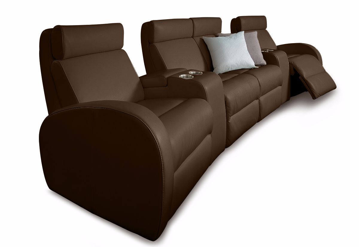 Jasper Reclining Home Theater Sofa - My Comfort (Palliser)
