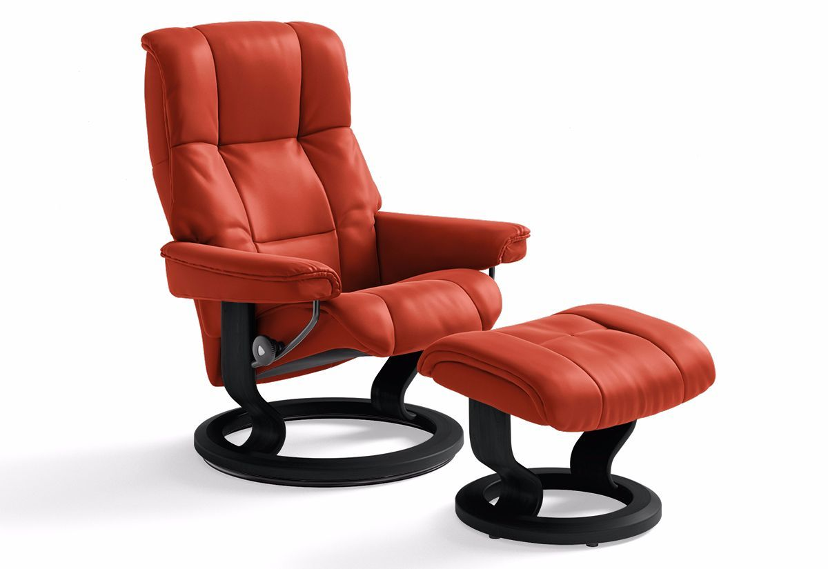 Mayfair Small Classic Recliner & Ottoman (Stressless by Ekornes)