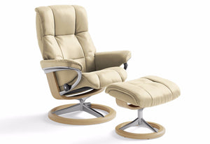 Mayfair Large Signature Recliner & Ottoman (Stressless by Ekornes)
