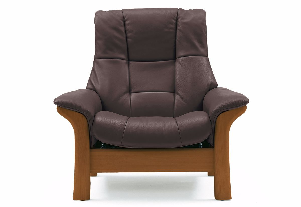 ... Buckingham Chair - High Back Recliner (Stressless by Ekornes) ...  sc 1 st  Recliners.la & Ekornes Stressless Buckingham (L) Chair - High Back Home Theatre ...