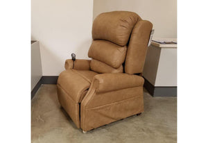 Stellar 550 Medium Lift Chair Recliner (UltraComfort) Distressed Saddle