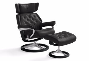 Skyline Large Signature Recliner & Ottoman (Stressless by Ekornes)