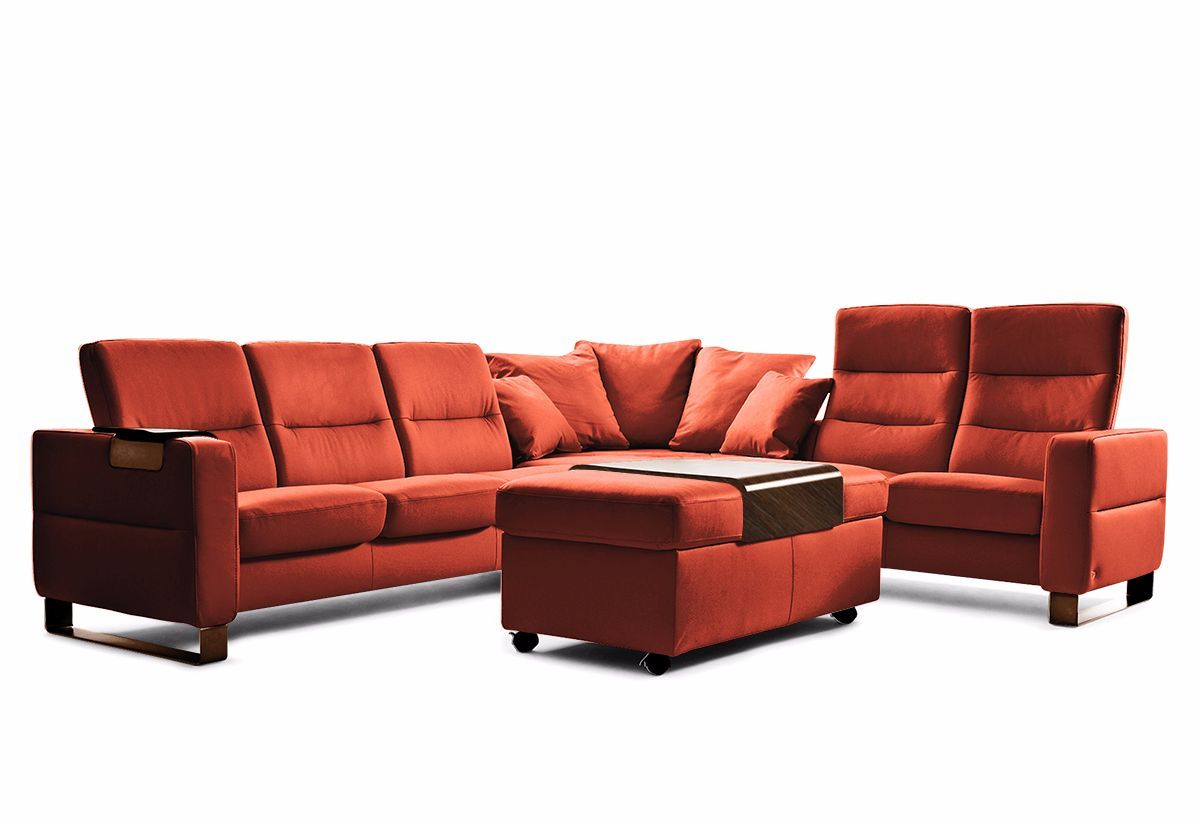 Wave Sectional Sofa High Back Recliner Stressless By Ekornes