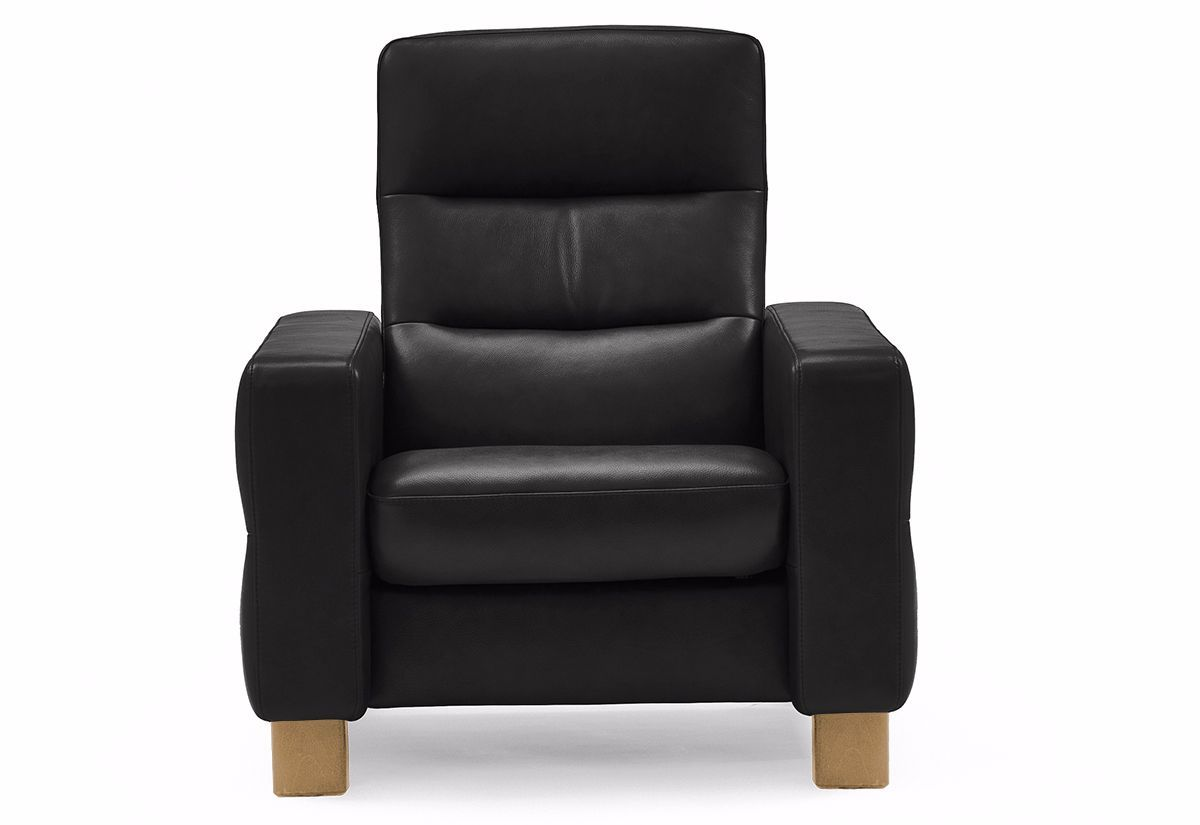 ... Wave Chair - High Back Recliner (Stressless by Ekornes) ...  sc 1 st  Recliners.la & Ekornes Stressless Wave Chair - High Back Home Theatre Recliner ... islam-shia.org