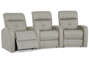 Audio Reclining Theater Seating Sofa (Palliser)