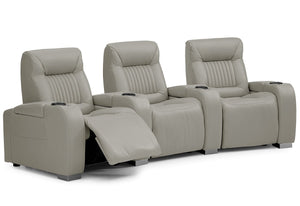 Autobahn Reclining Theater Seating Sofa (Palliser)