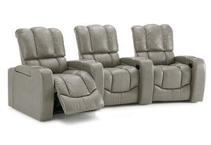 Channel Reclining Theater Seating Sofa (Palliser)