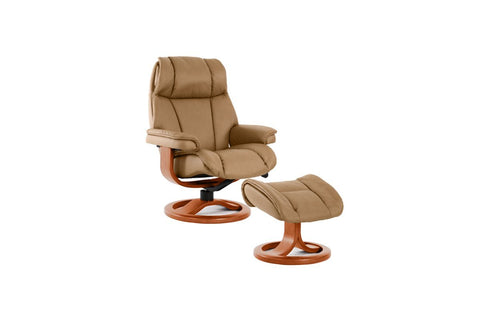 General Recliner & Ottoman (Fjords)