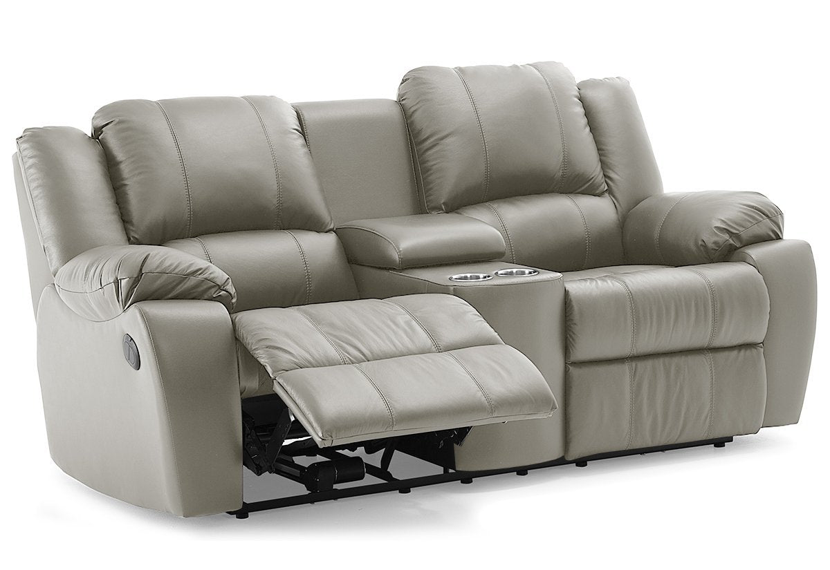 Swell Delaney Reclining Loveseat W Console Palliser Caraccident5 Cool Chair Designs And Ideas Caraccident5Info