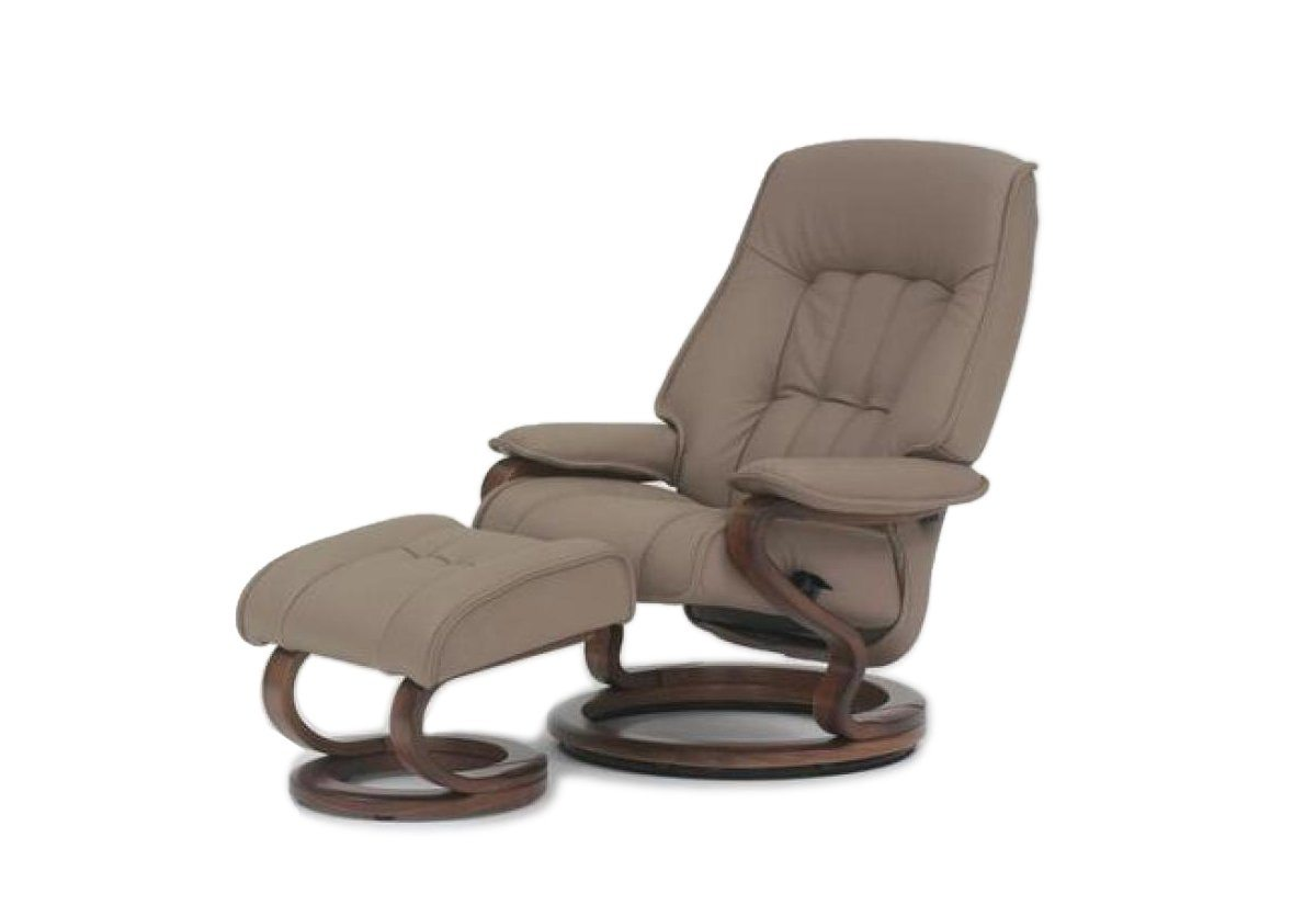 Stupendous Elbe Recliner And Ottoman Himolla Caraccident5 Cool Chair Designs And Ideas Caraccident5Info
