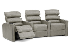 Feedback Reclining Theater Seating Sofa (Palliser)