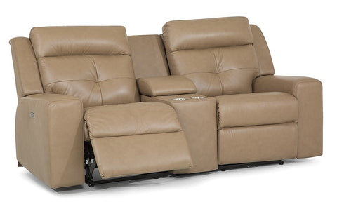 Grove Power Reclining Loveseat W/Console (Palliser)