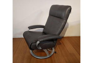Kiri Recliner (Lafer) Anthracite Leather