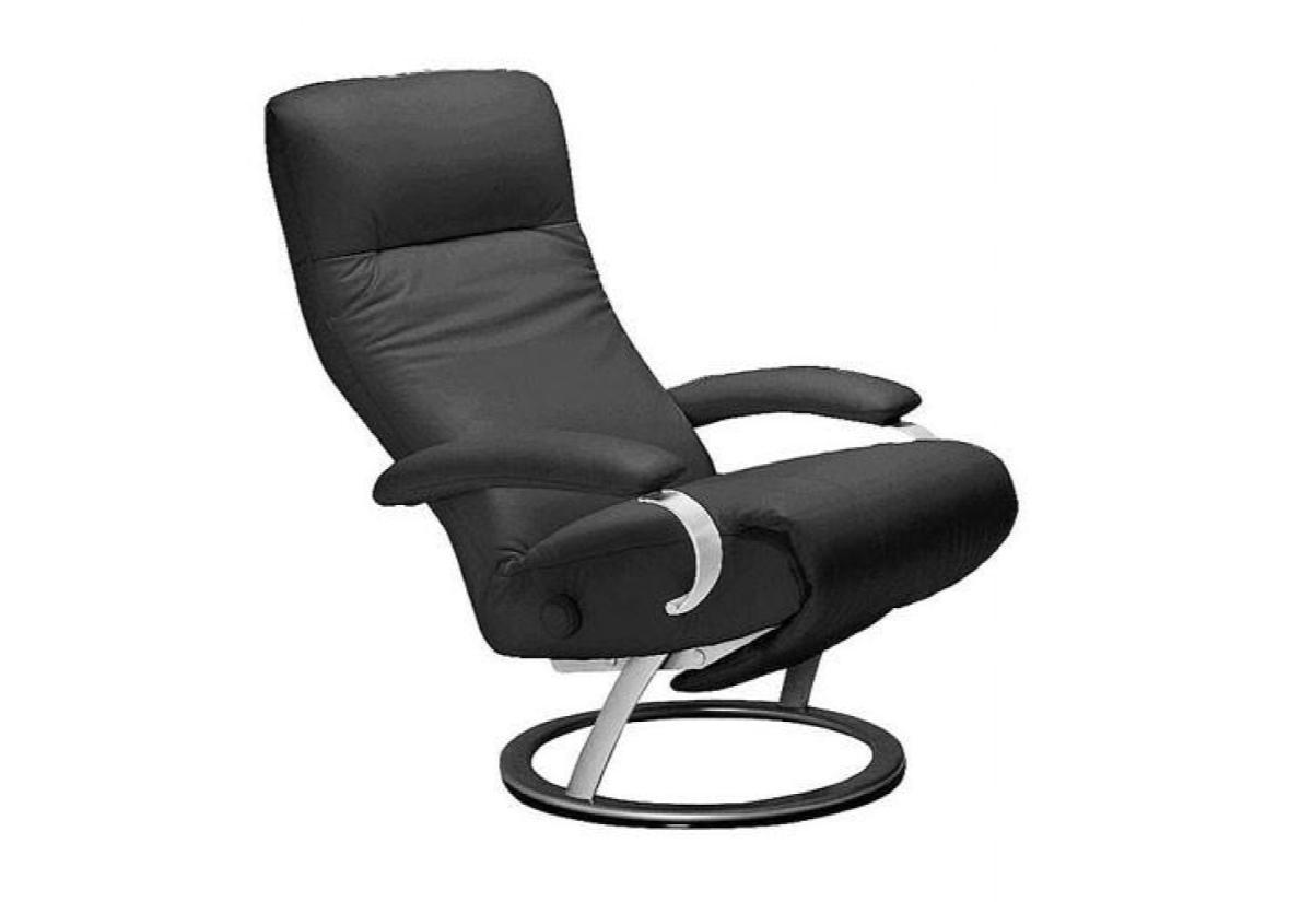 ... Kiri Recliner (Lafer) Anthracite Leather