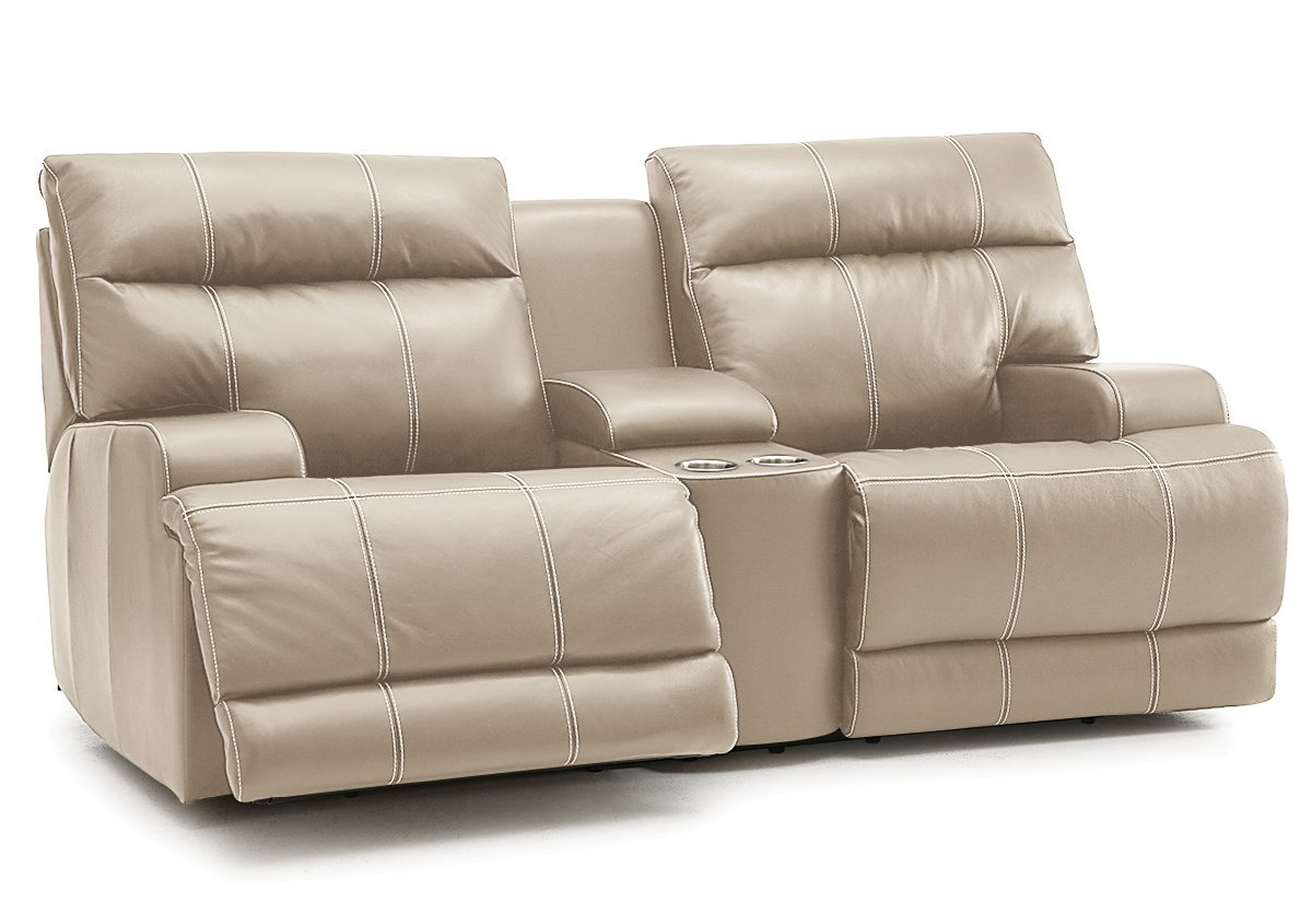 Lincoln Reclining Loveseat W/ Console (Palliser)