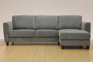 Flex Loveseat Chaise Sectional Sleeper (Luonto)