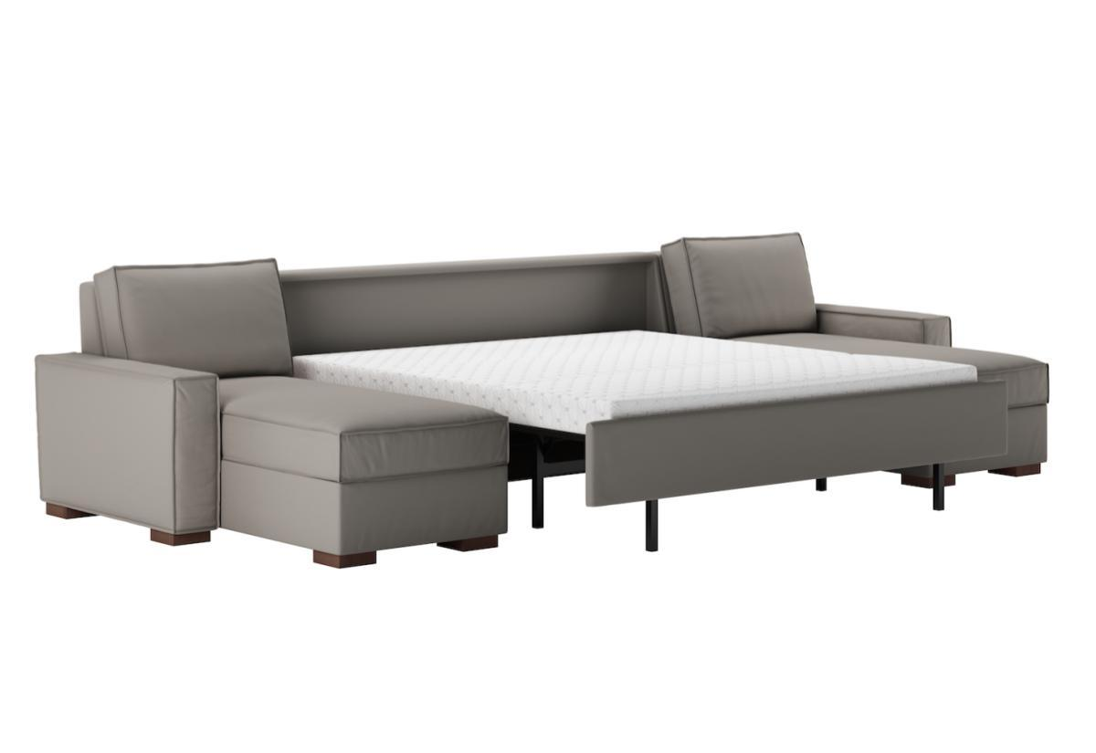 Madden Premier Sectional Sleeper Sofa (American Leather)