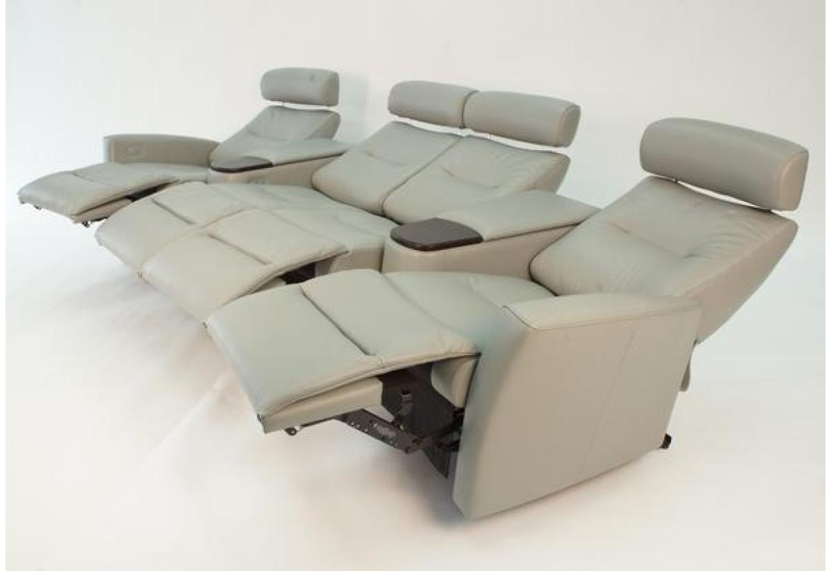... Madrid 4 Seat Reclining Home Theatre (Fjords)