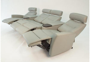 Madrid 4-Seat Reclining Home Theatre (Fjords)