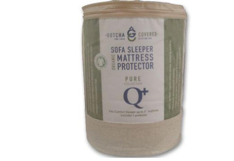 pure collection comfort sleeper mattress protector gotcha covered