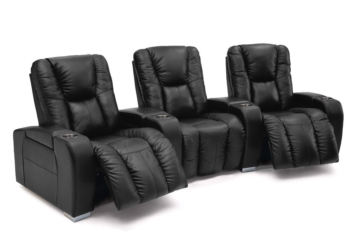 Media Reclining Theater Seating Sofa (Palliser)